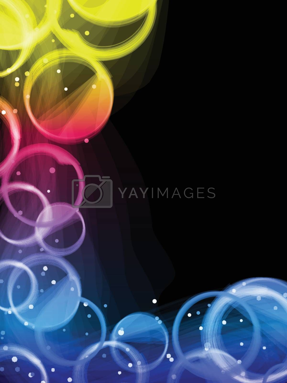 Royalty free image of Abstract colorful circles background. by gubh83