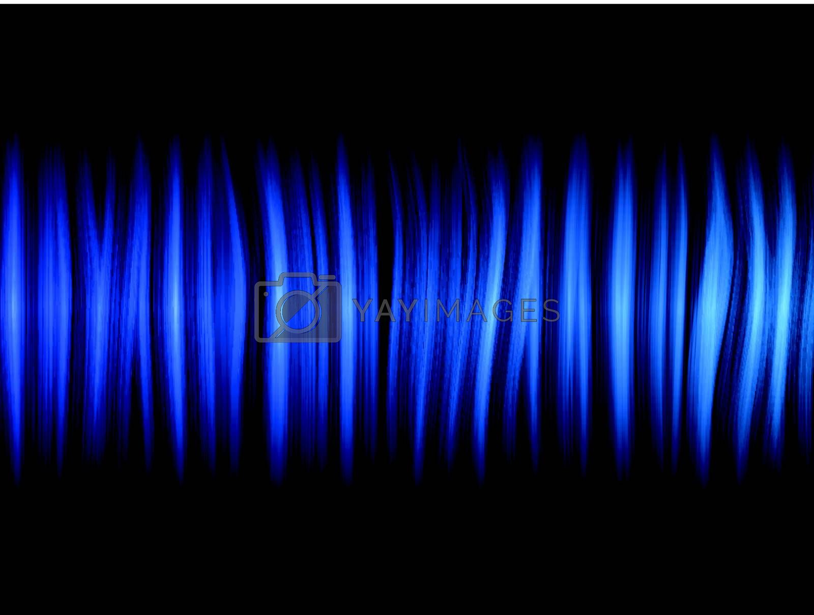 Royalty free image of Abstract Blue Lines Background by gubh83
