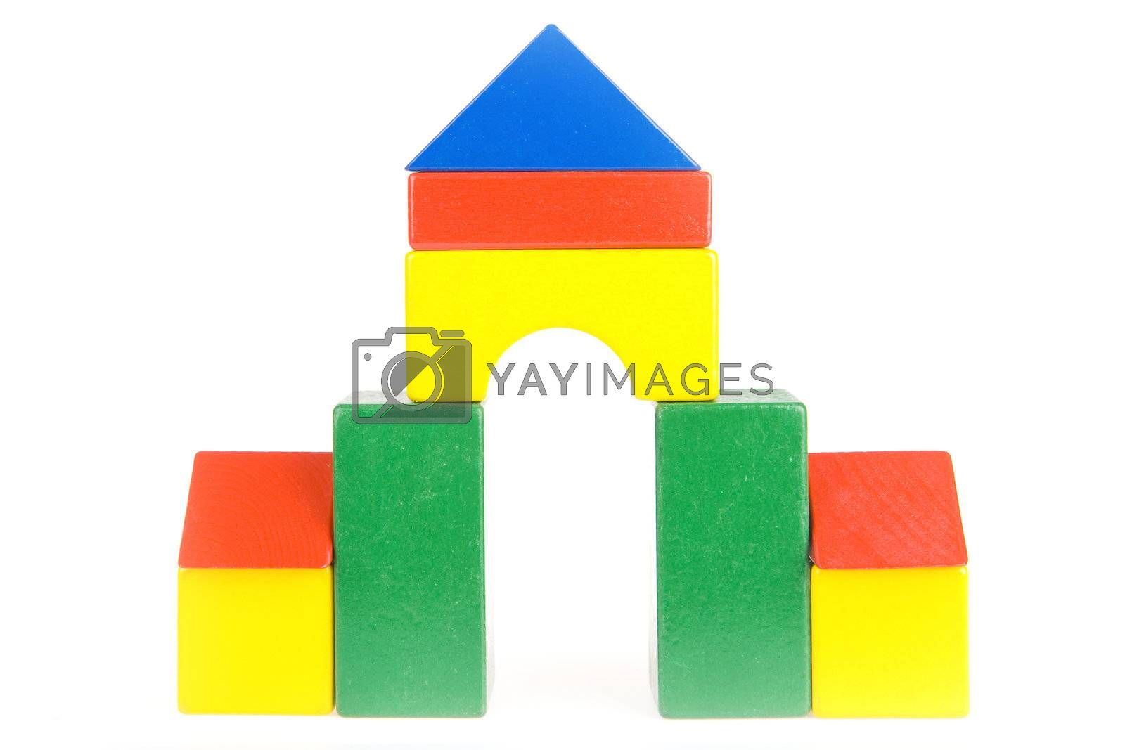 Royalty free image of blocks by Gabees