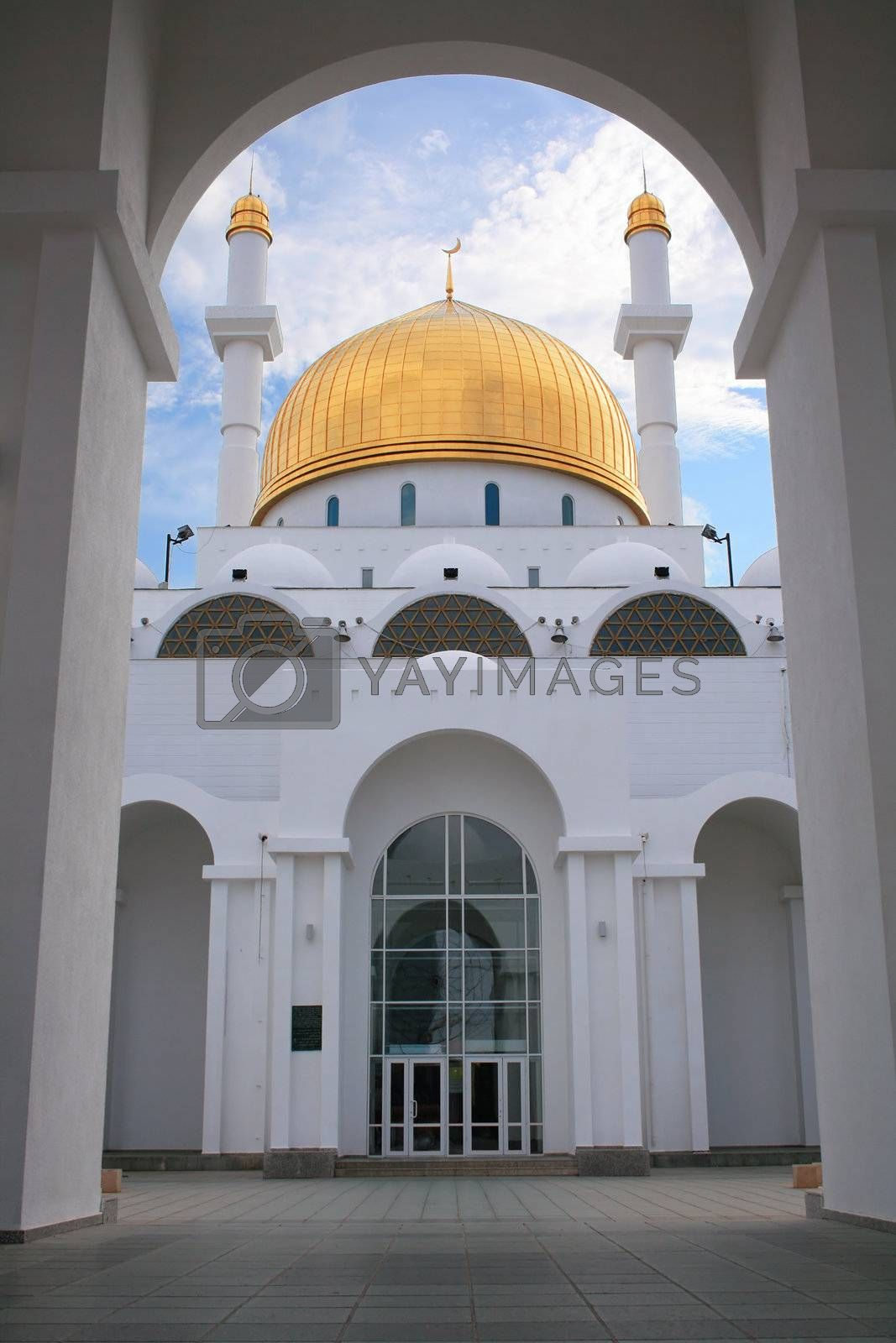 Royalty free image of Mosque entrance by whiterabbit