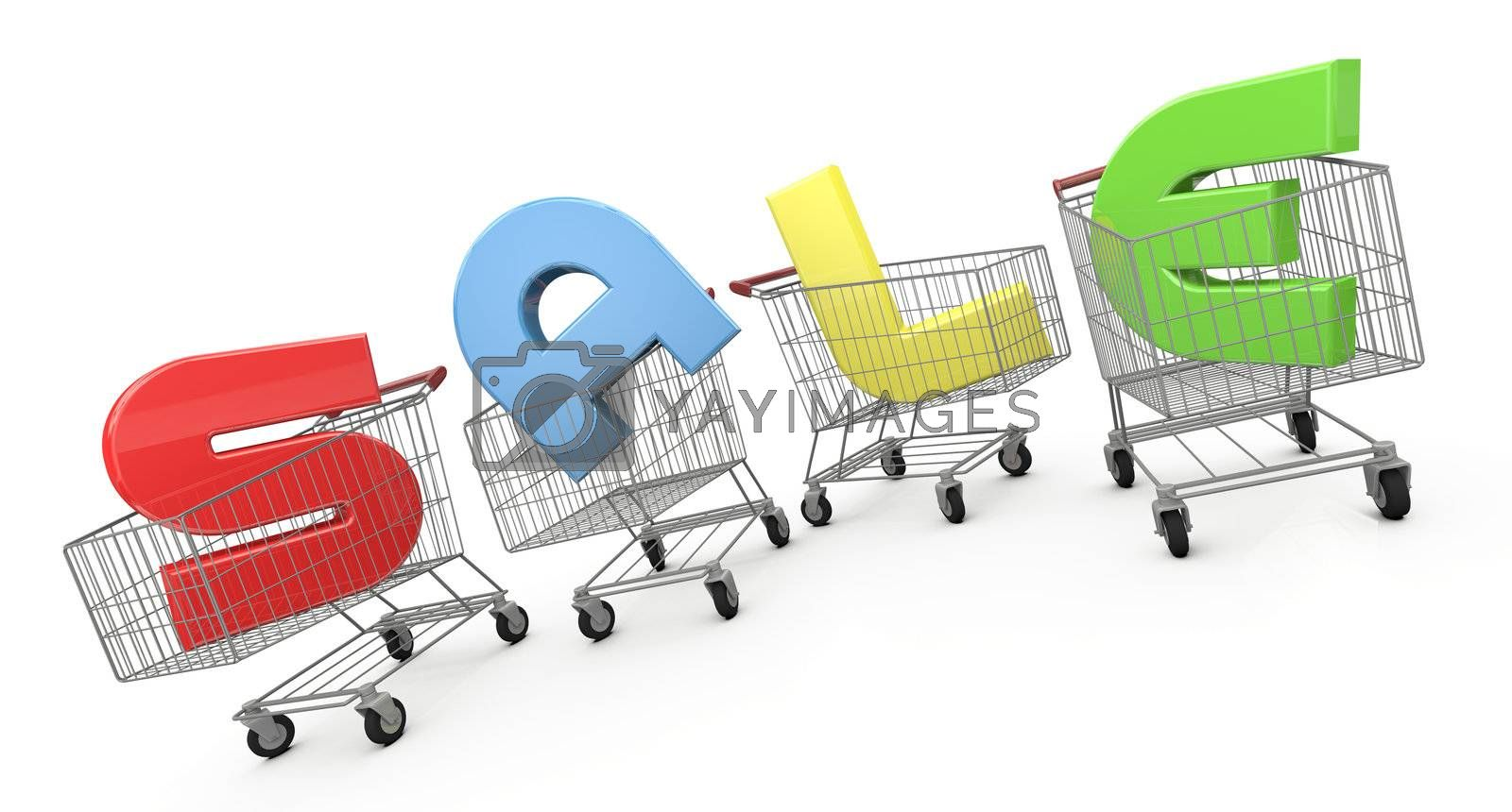 Royalty free image of Sale by bayberry
