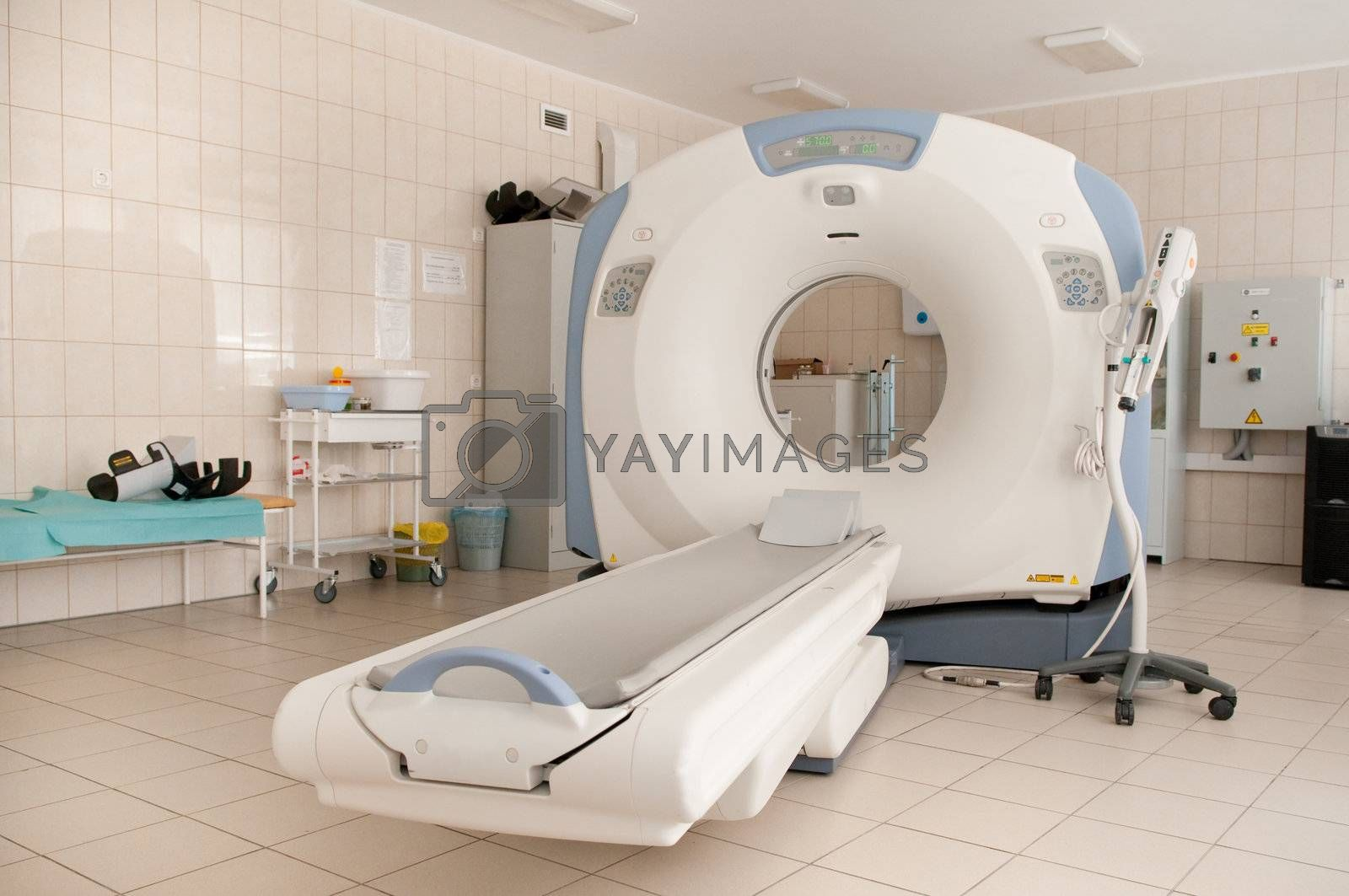 Royalty free image of CAT Scan Machine  by alexei171