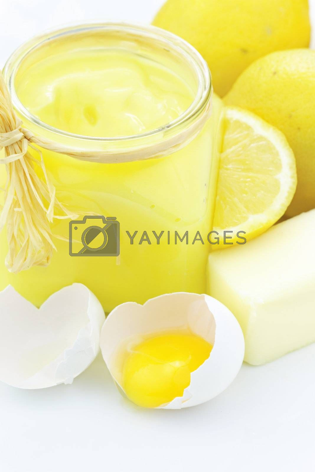 Royalty free image of Ingredients for Lemon Curd by StephanieFrey