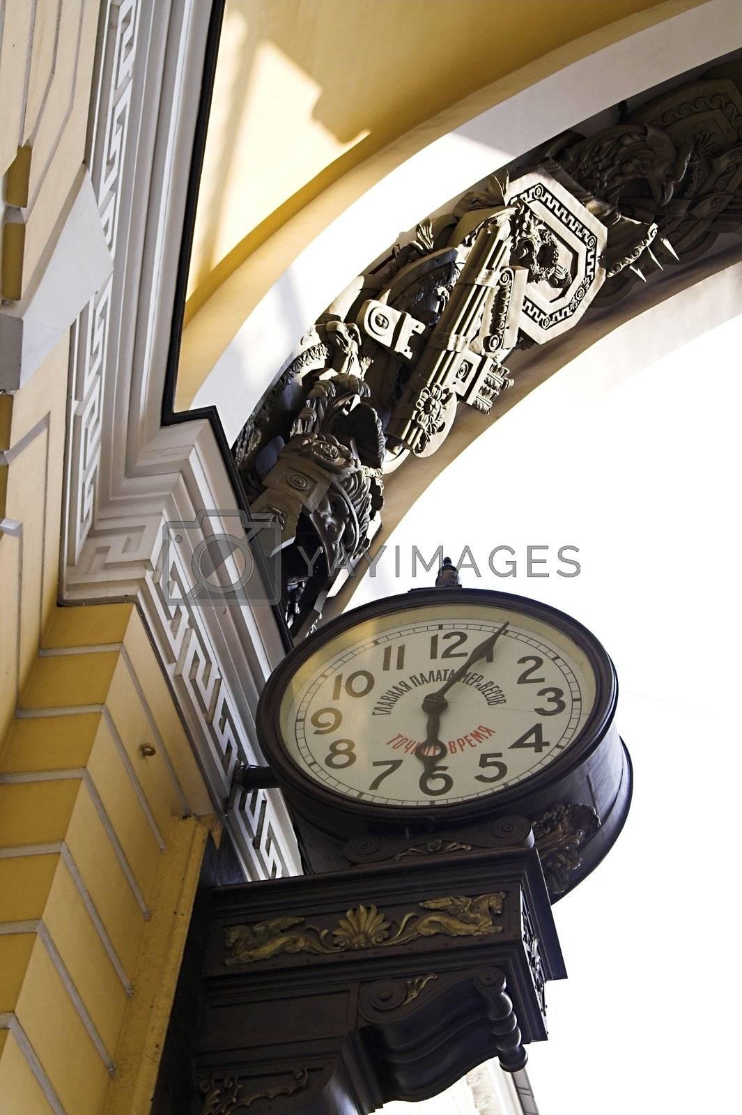 Old-style Public Clocks by simfan