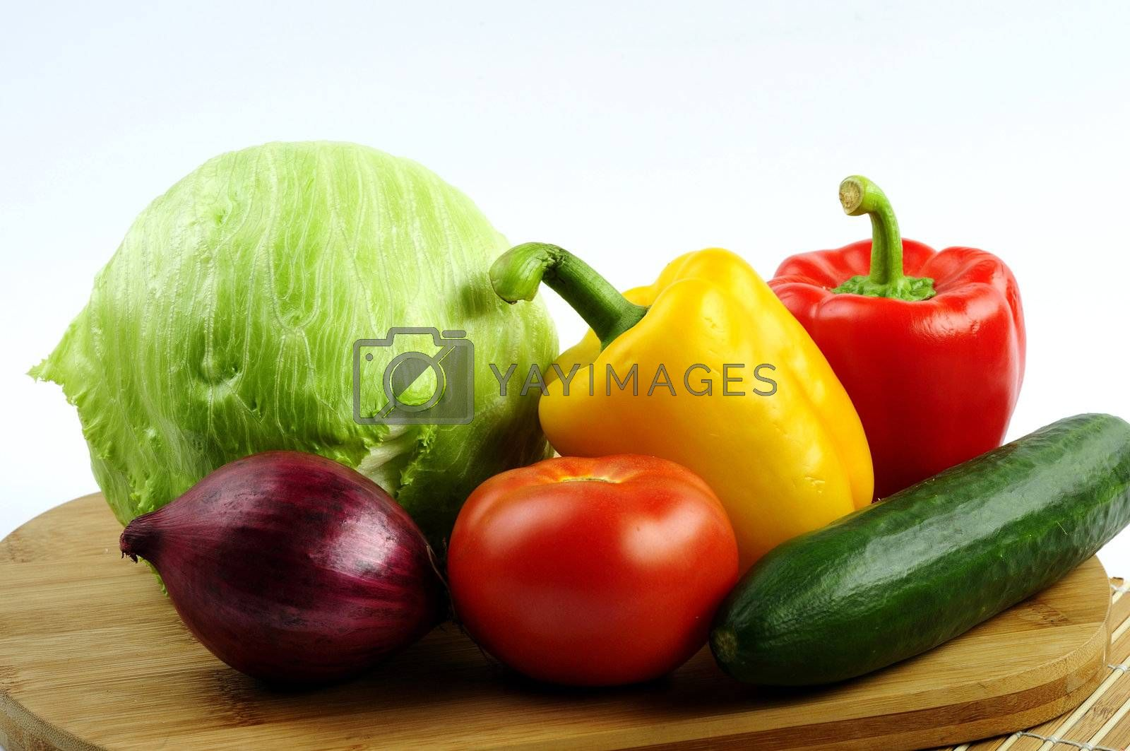 Royalty free image of vegetables by dundersztyc