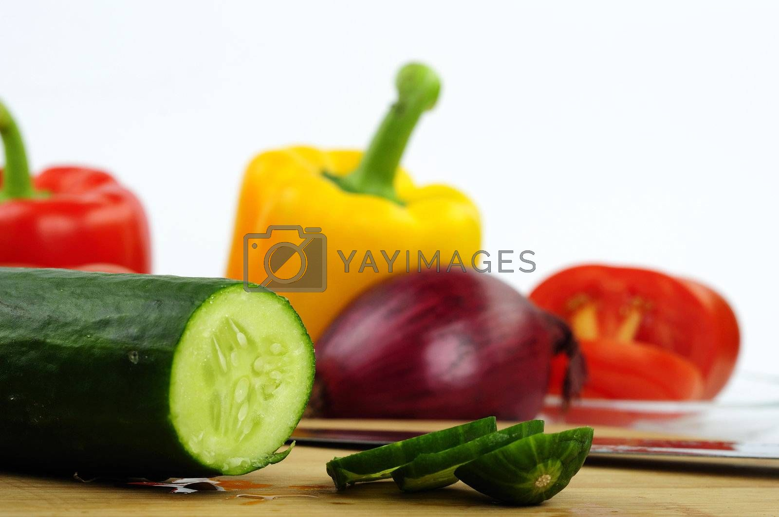 Royalty free image of vegetable by dundersztyc