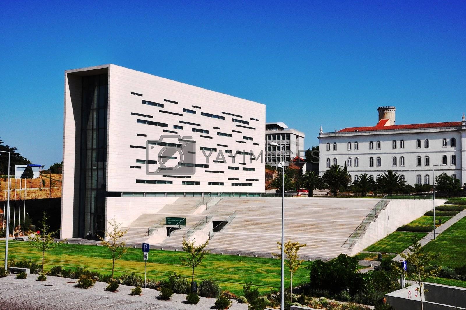 Royalty free image of University in Lisbon by vas25