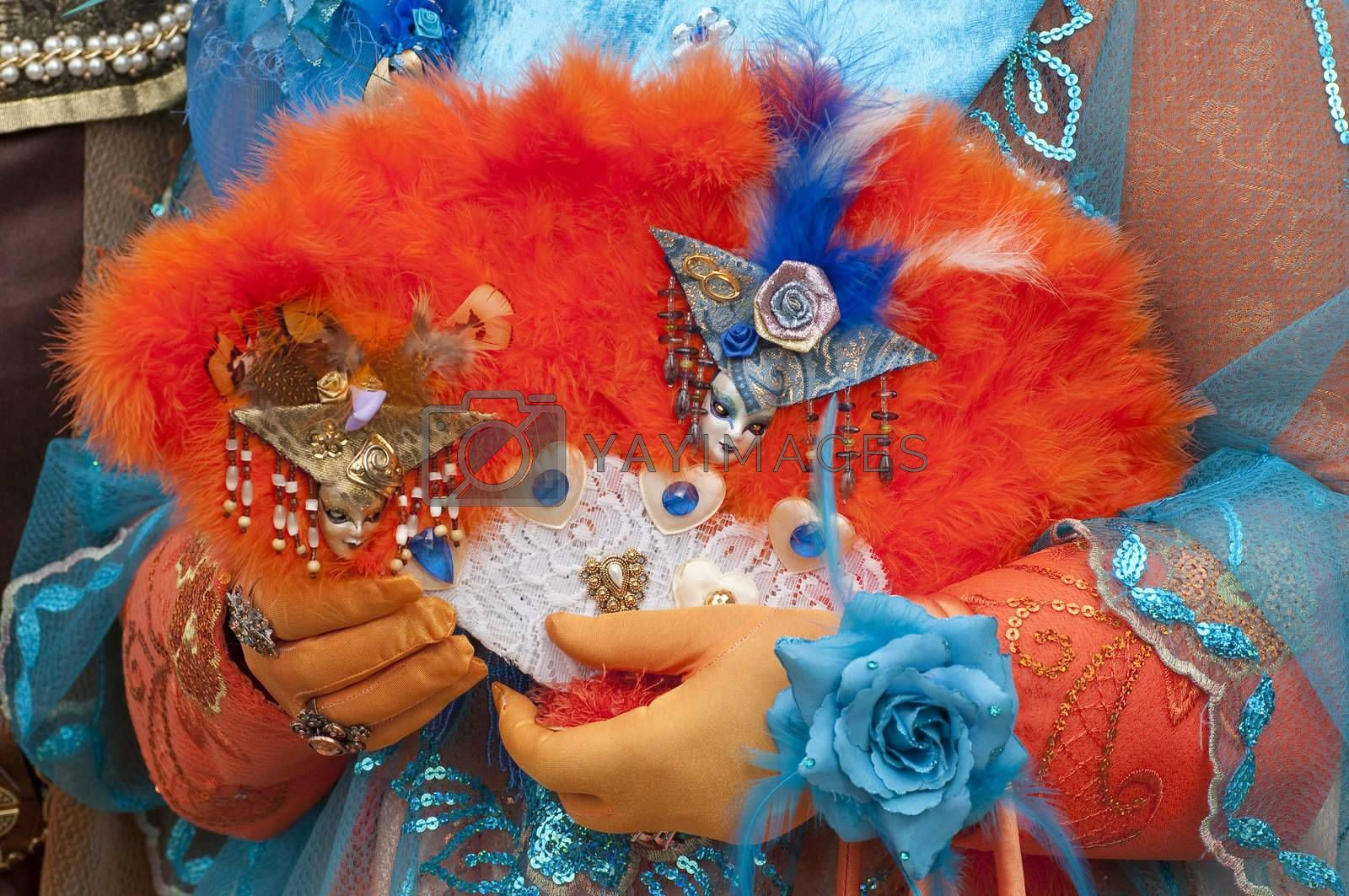Royalty free image of Venice carnival mask by AlessandroZocc
