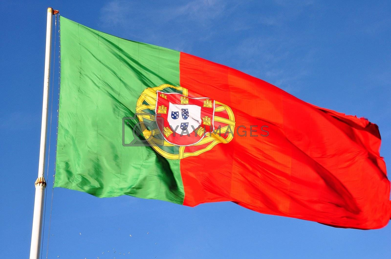 Royalty free image of Banner of Portugal  by vas25
