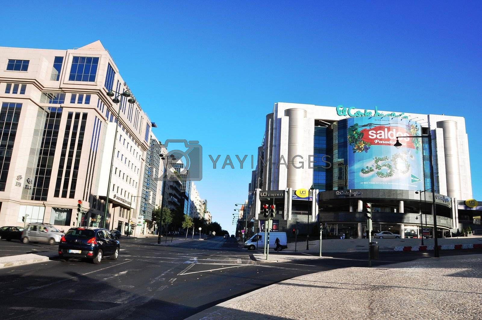 Royalty free image of architecture of Lisbon Portugal by vas25