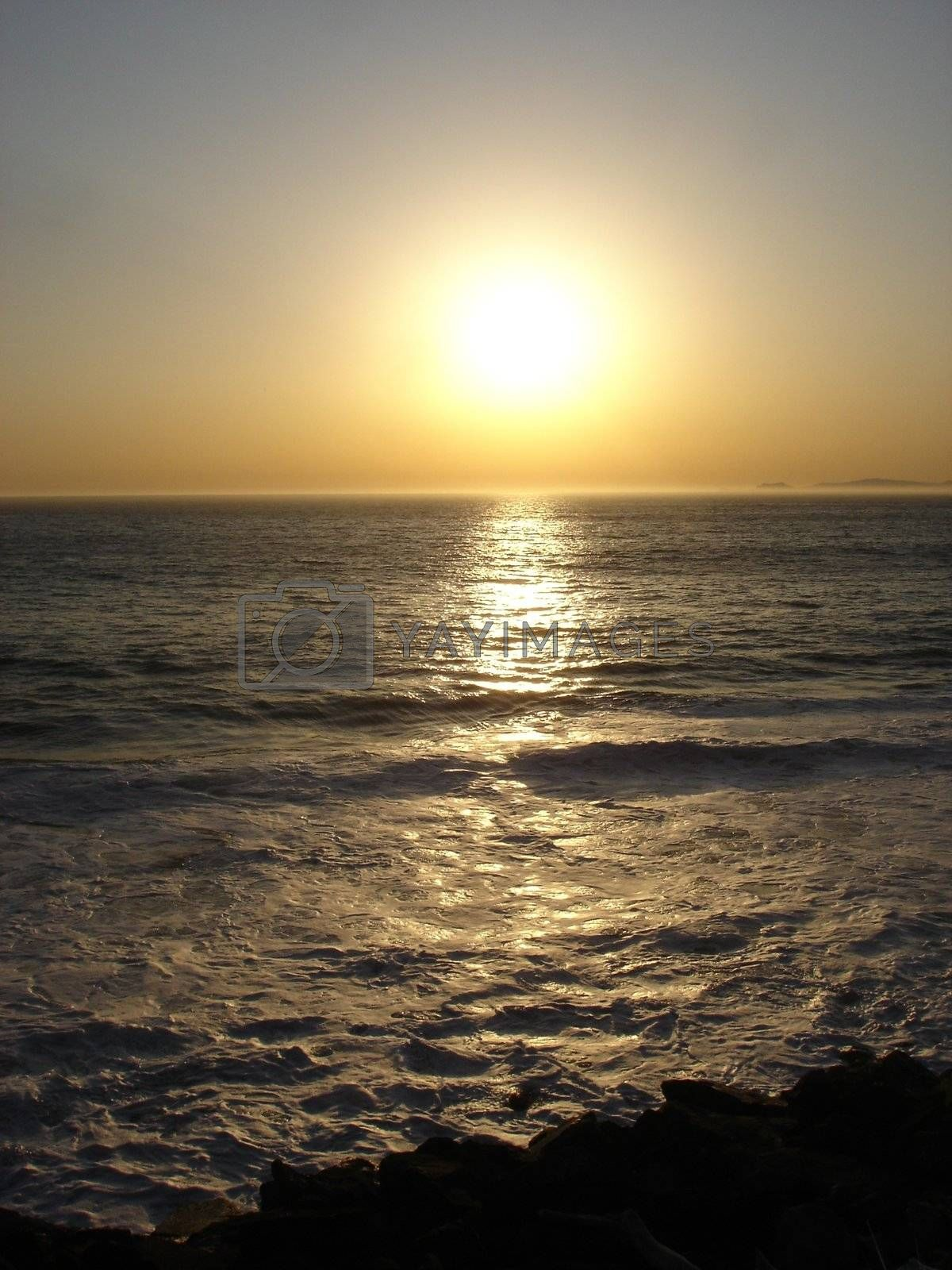Royalty free image of Sunset by solheim
