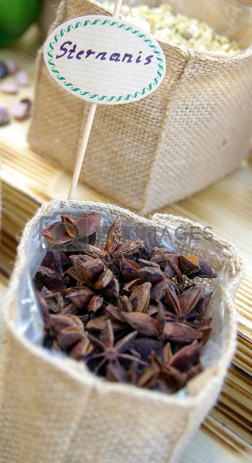 Royalty free image of star anise by FotoFrank