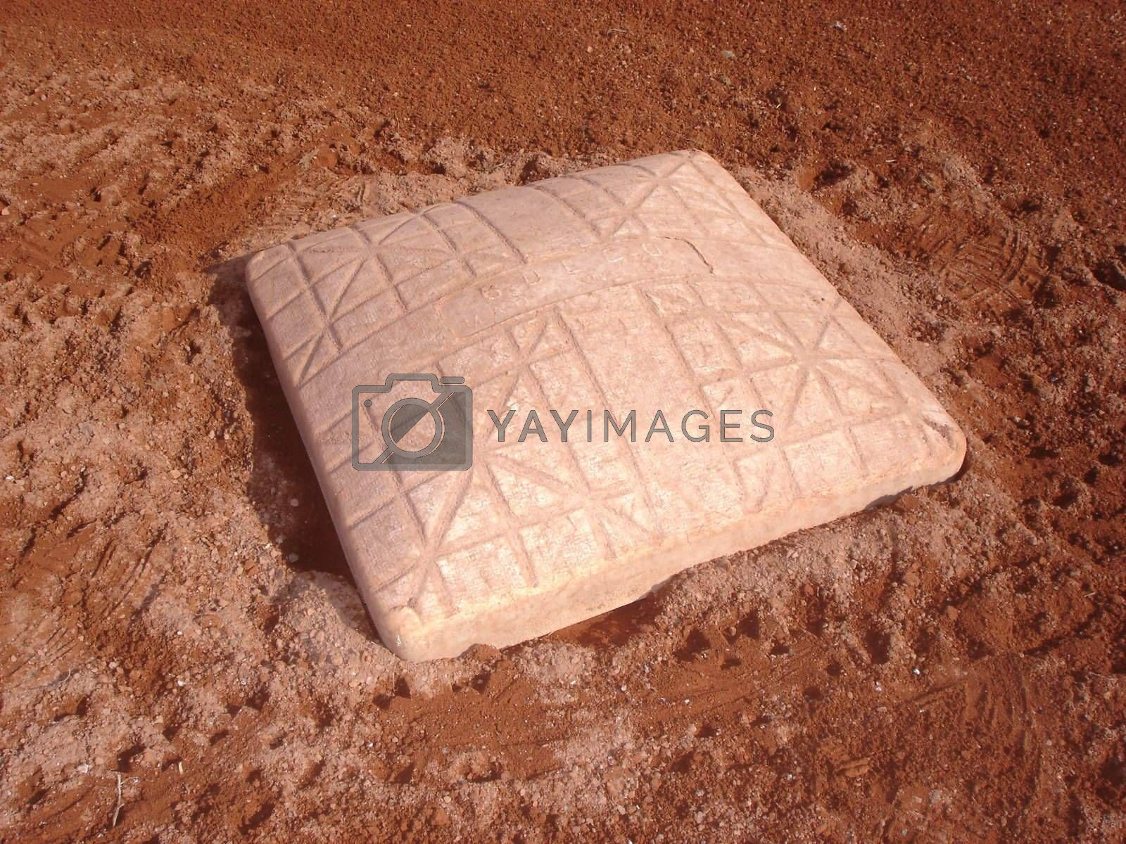 Royalty free image of Baseball base by solheim