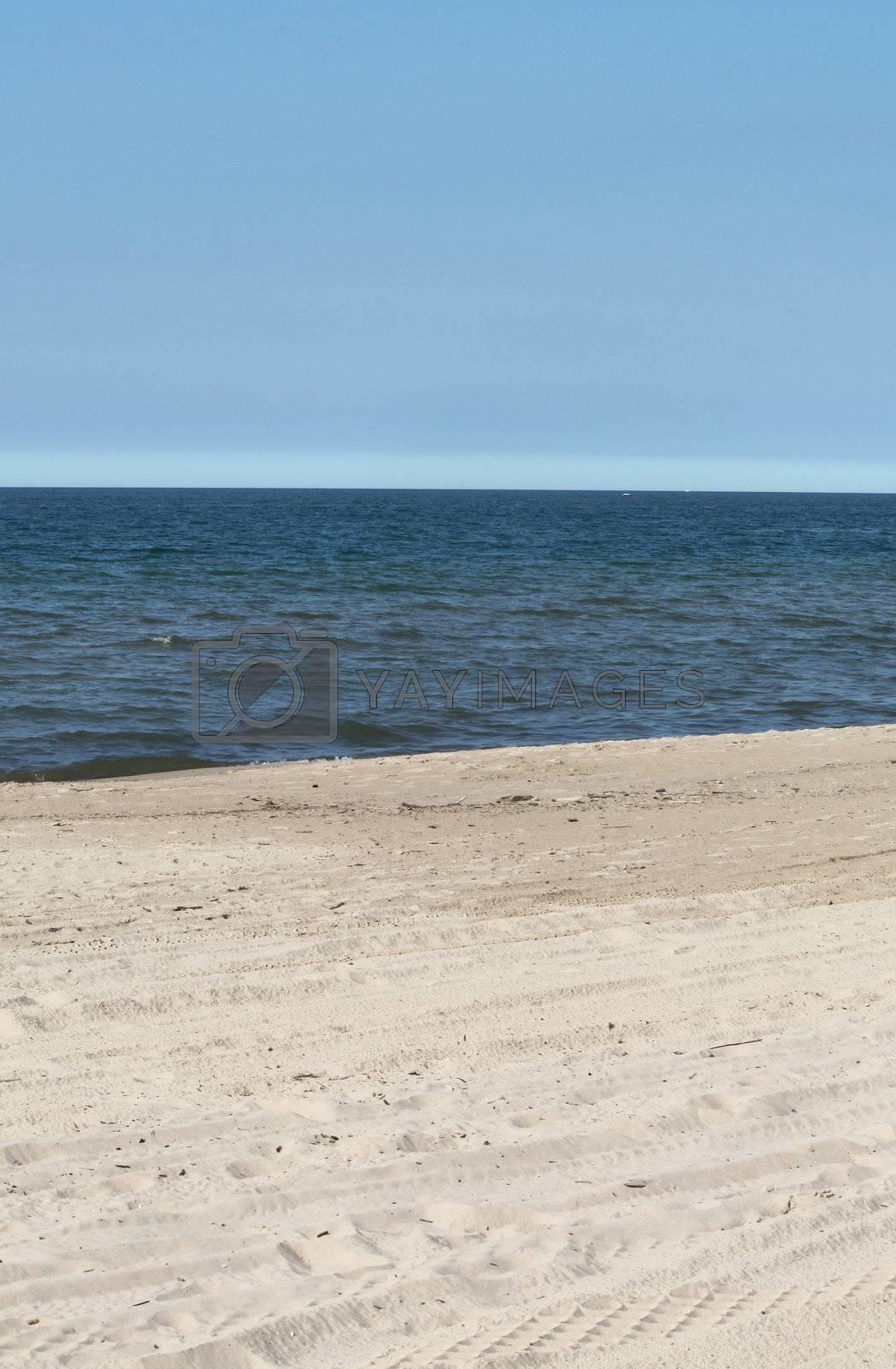 Royalty free image of Ocean beach by solheim