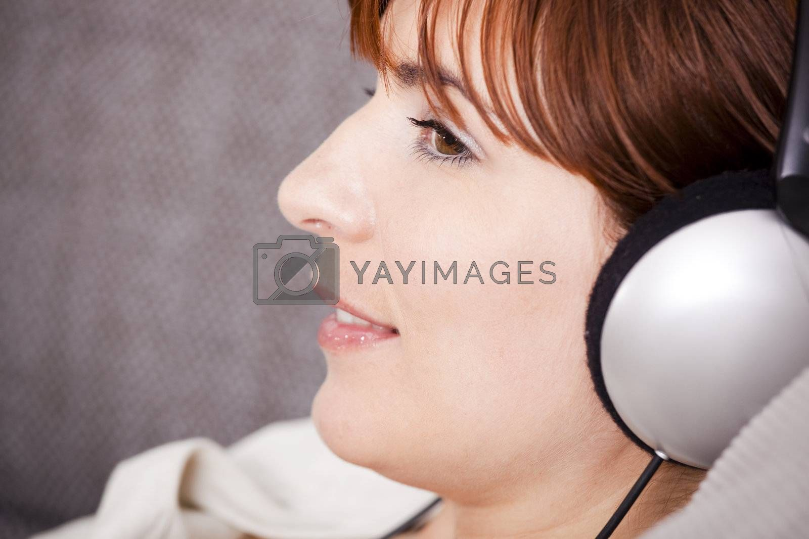 Royalty free image of Relax and listening music by Iko