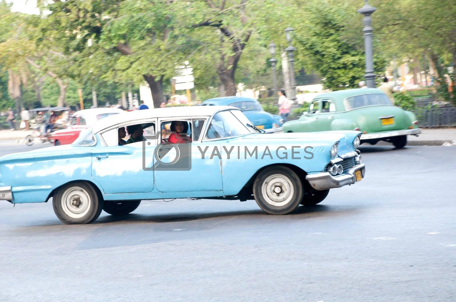 Street scenes of Havana, Cuba