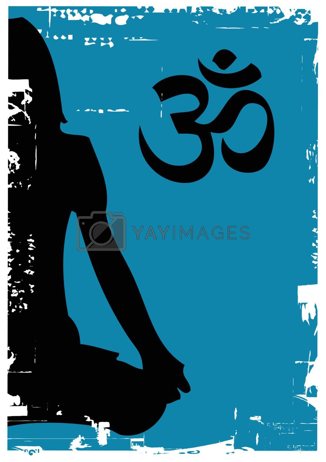 Royalty free image of yogi by emirsimsek