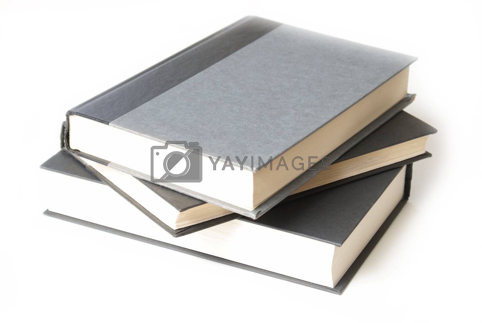 Royalty free image of Stack of Hardcover Books by AlphaBaby