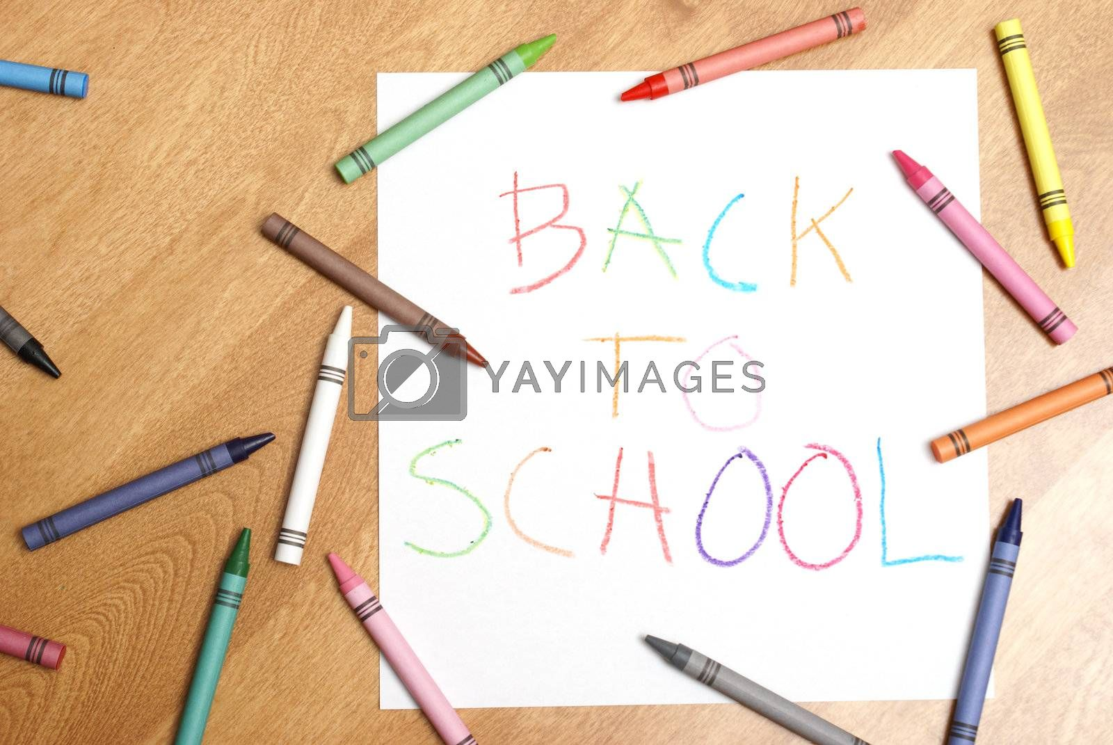 Royalty free image of Back to School by AlphaBaby