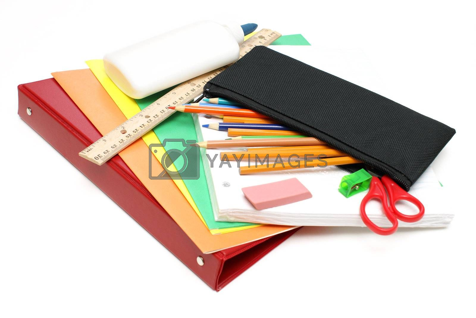 Royalty free image of School Supplies by AlphaBaby
