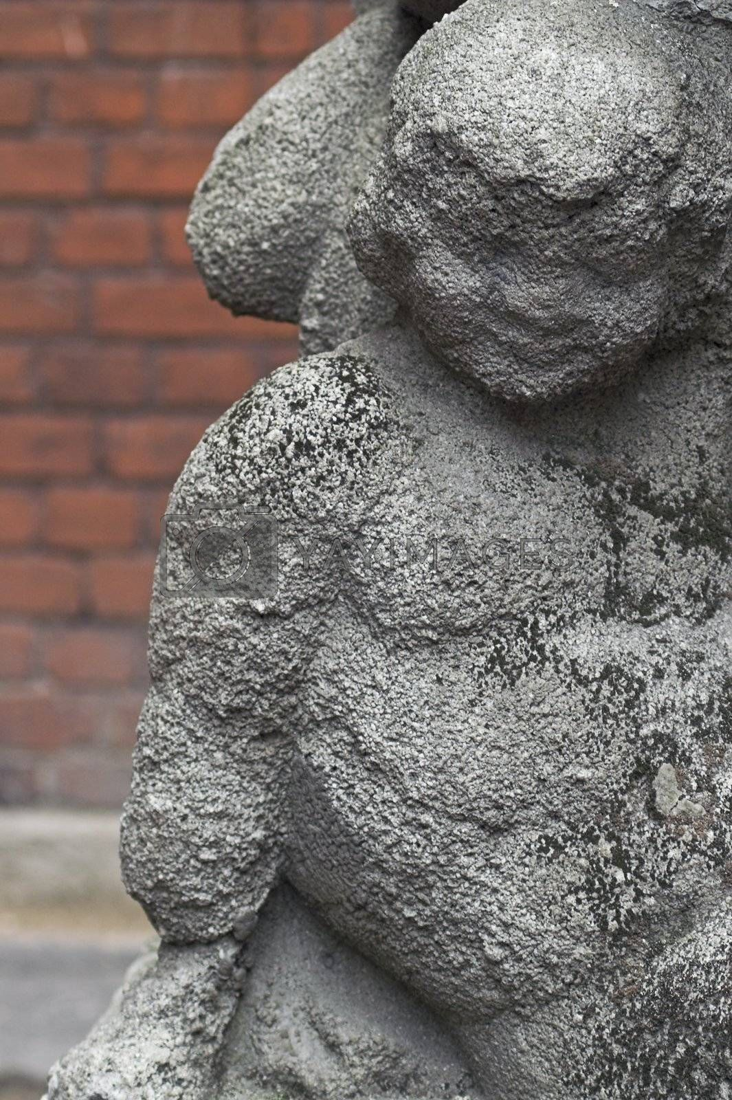 Old Small Sculpture  by simfan