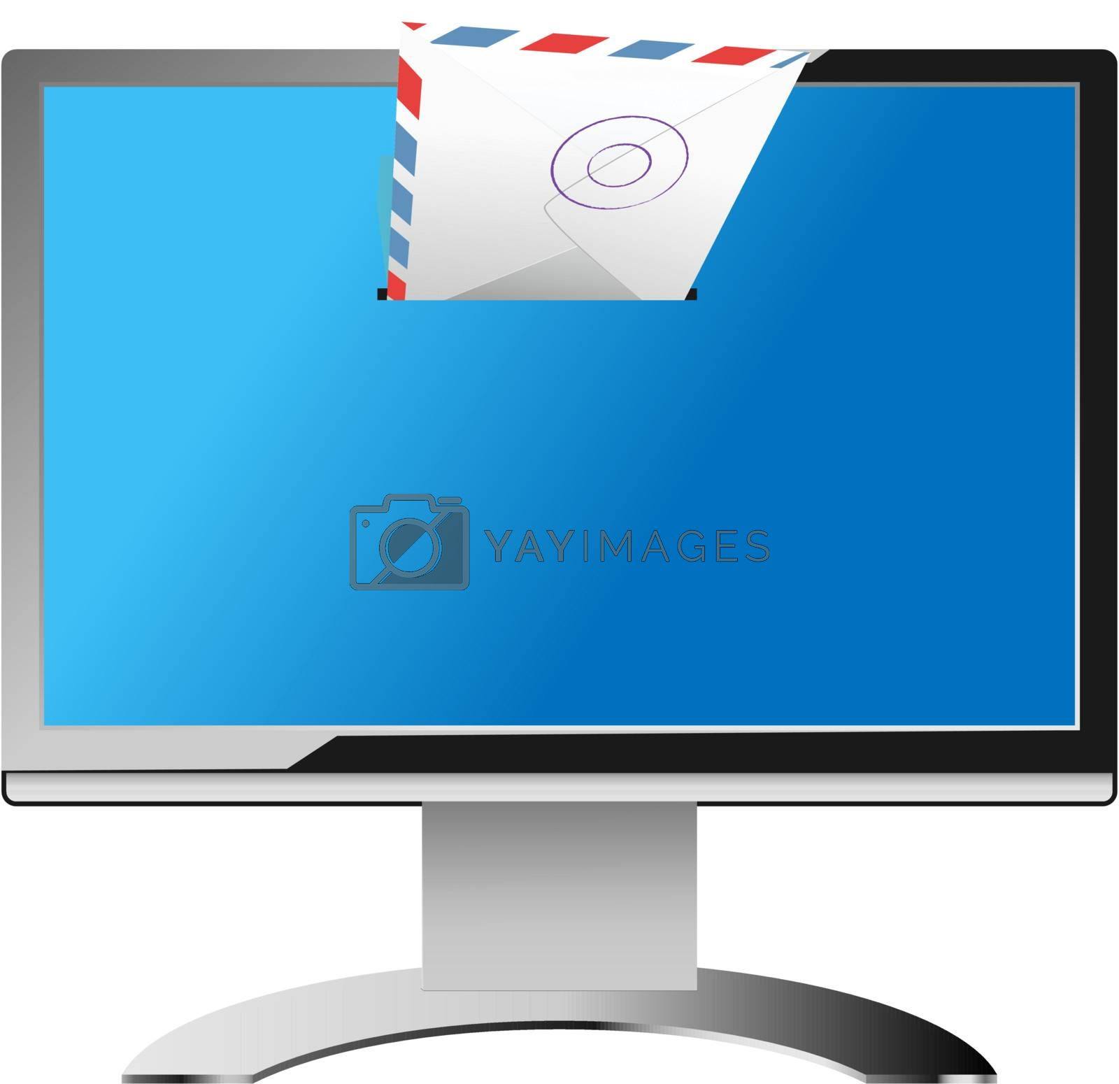 Royalty free image of email by kovacevic