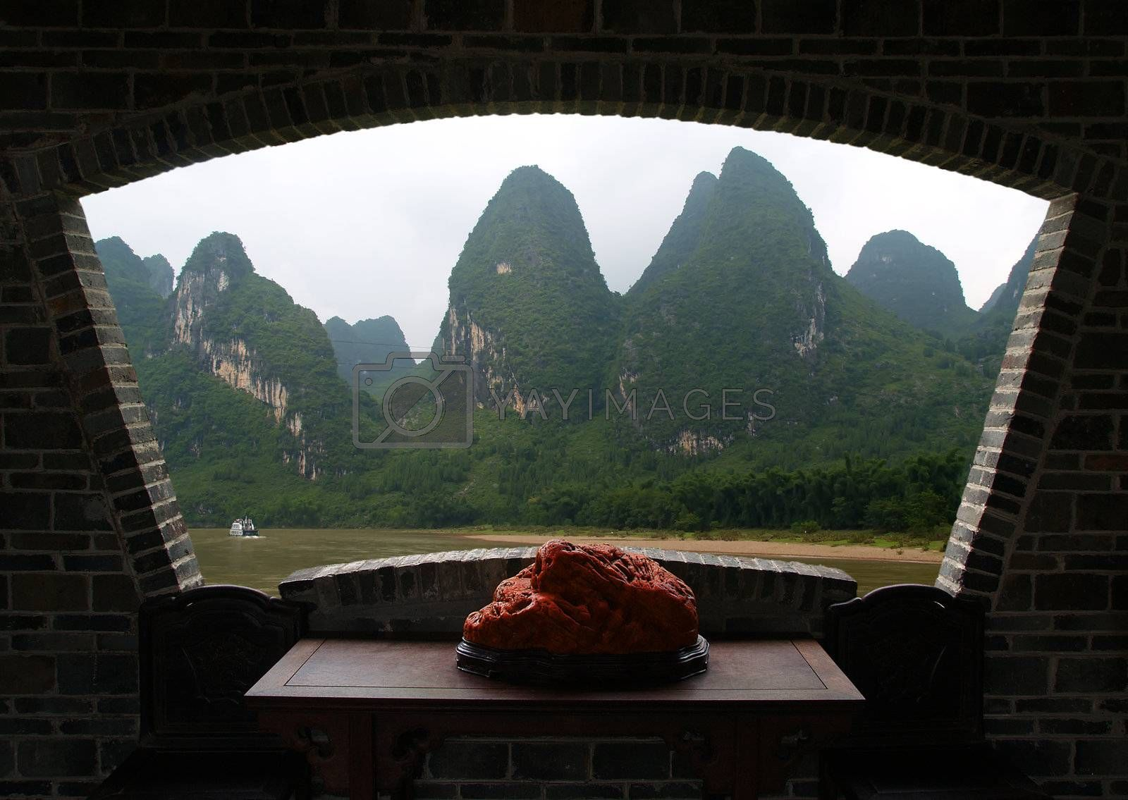 The Gui-lin landscapes in south of China