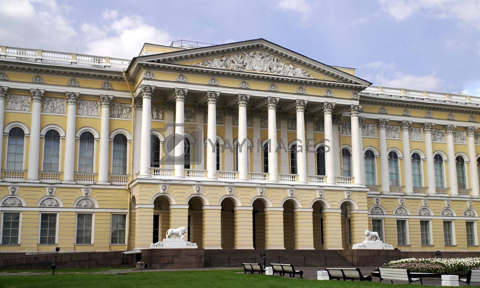 Russian Museum in Saint Petersburg, Russia.