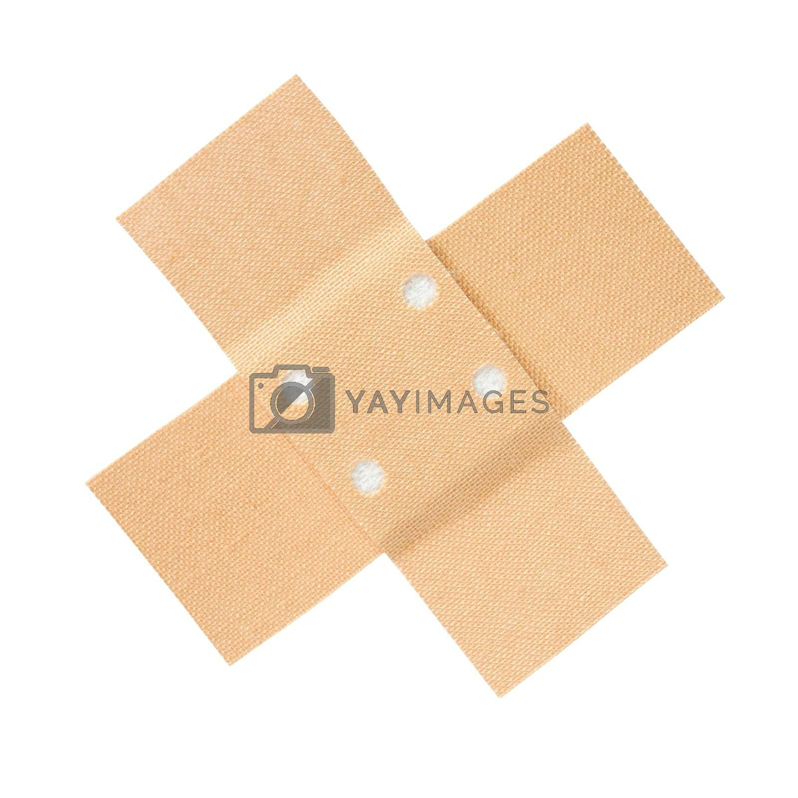 Isolated bandage