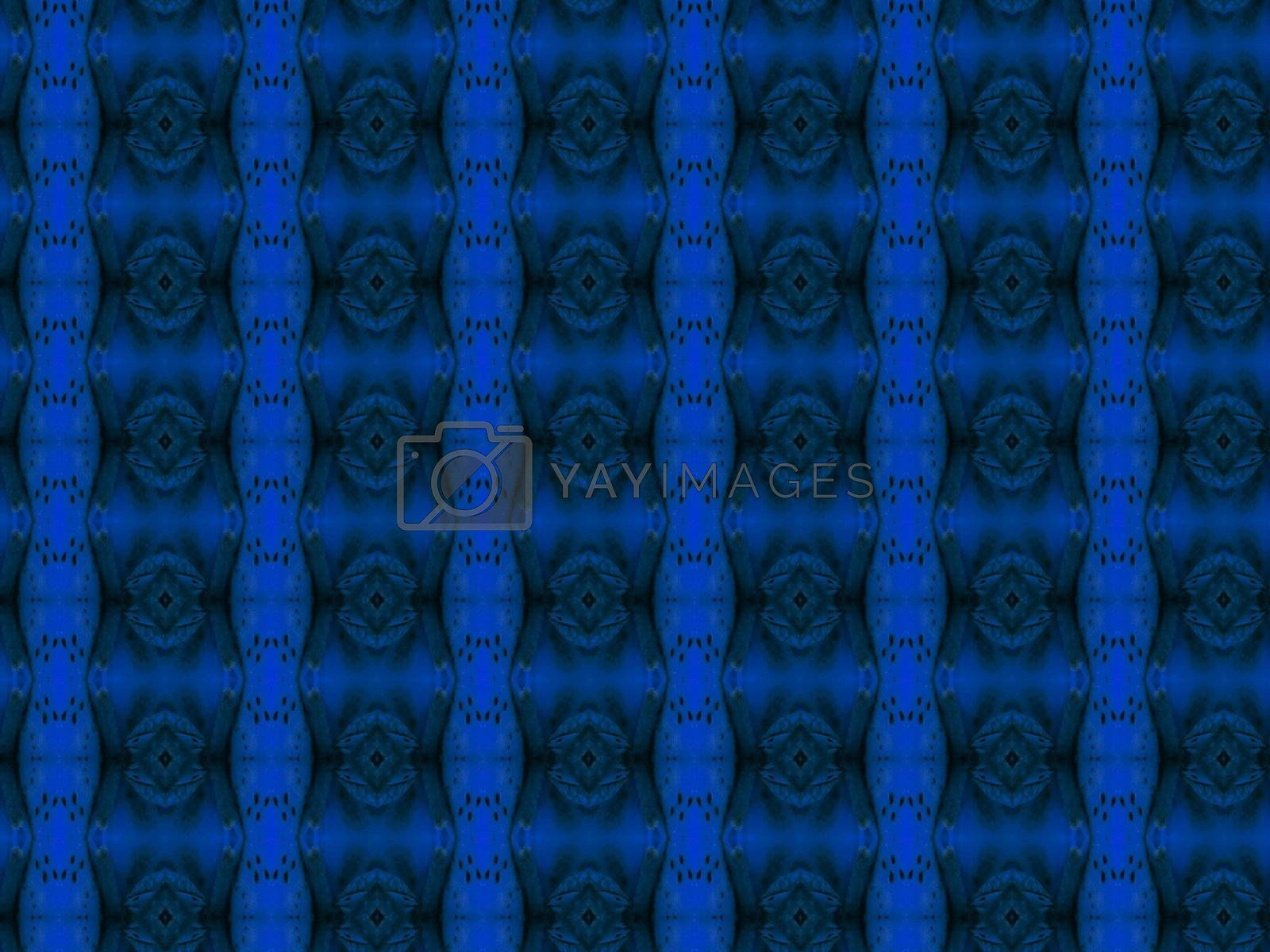 light and dark blue square pattern background