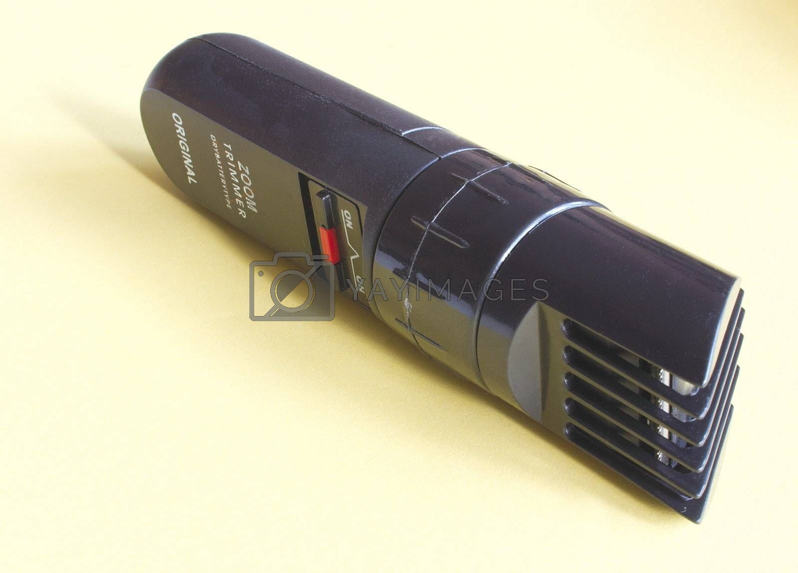 a cutting blades of a beard trimmer