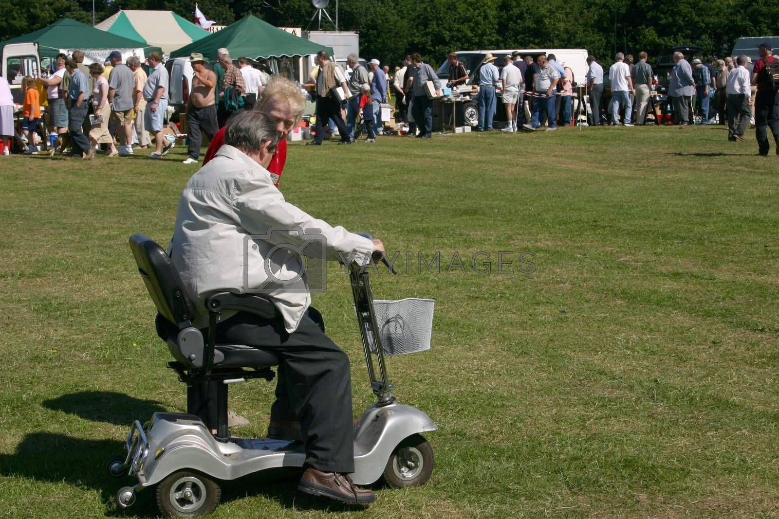 mobile chair for the disabled