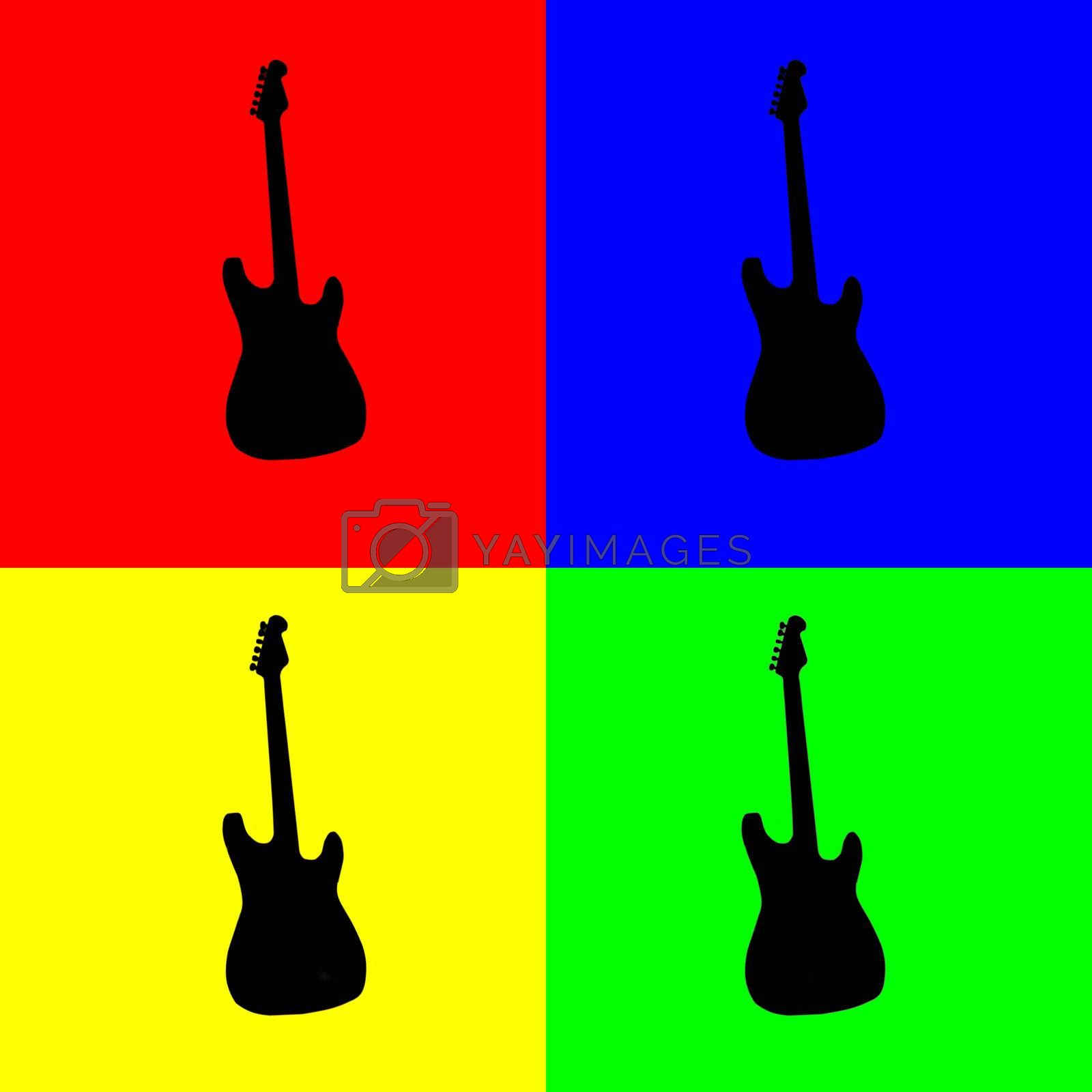Royalty free image of Guitar by Koufax73