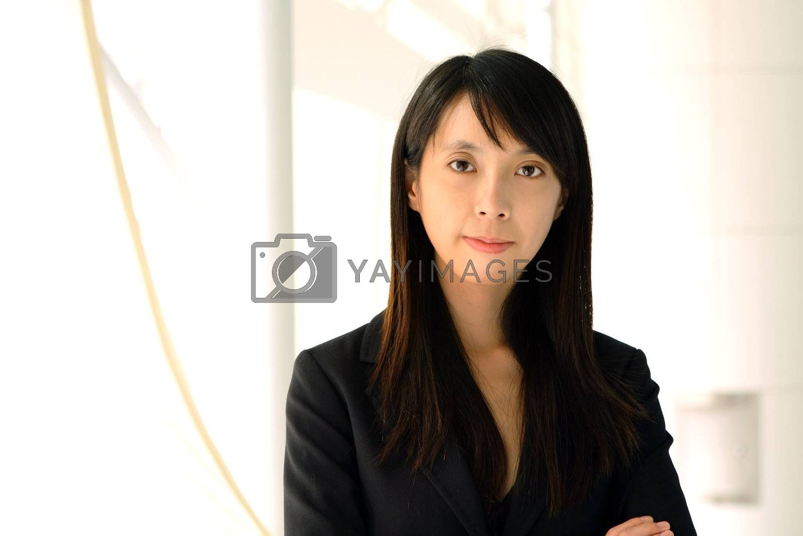 Royalty free image of asian business woman by leungchopan