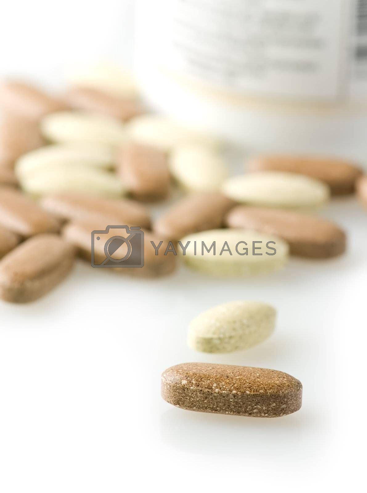 Royalty free image of Nutritional supplements by iribo