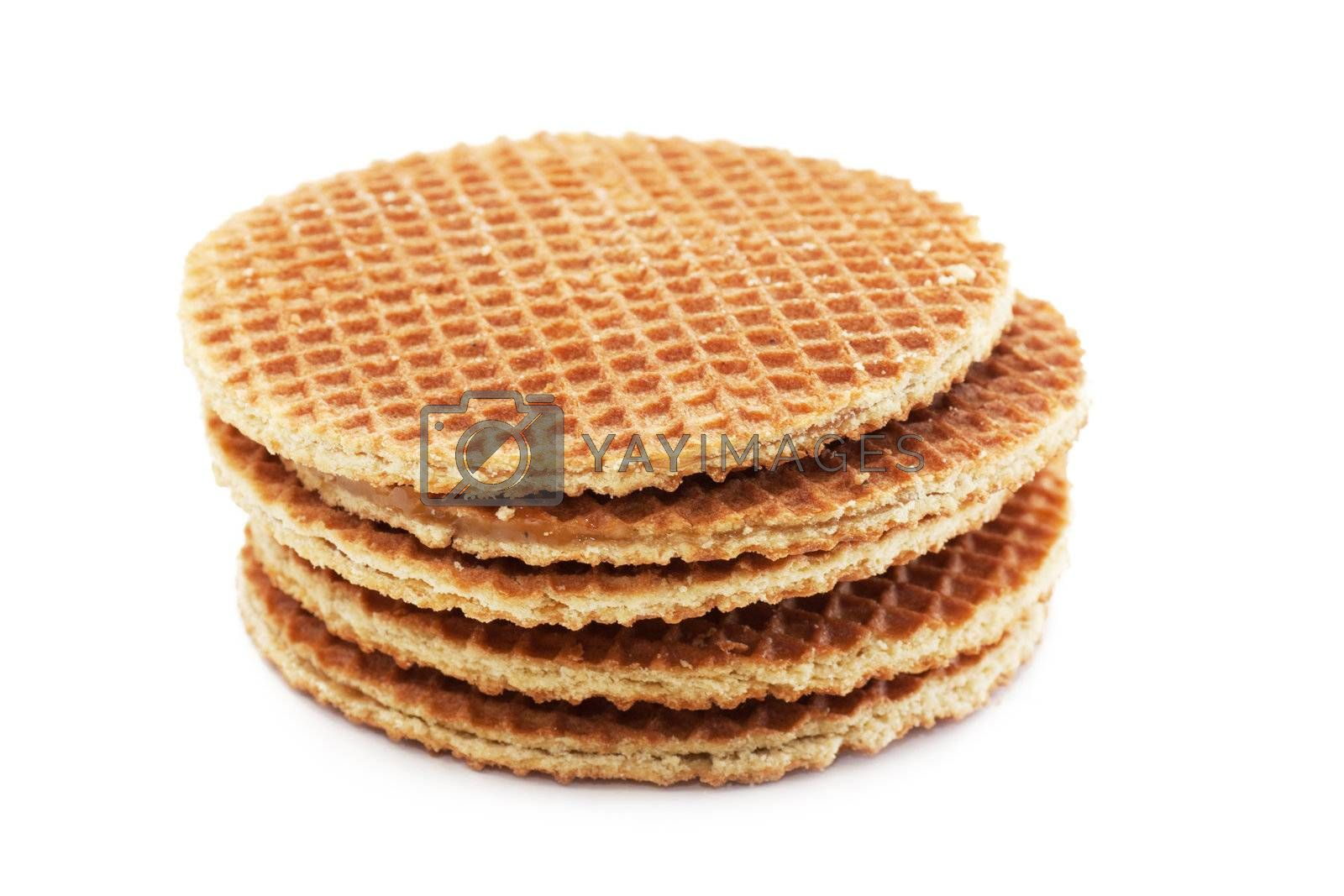 Royalty free image of Waffles by AGorohov