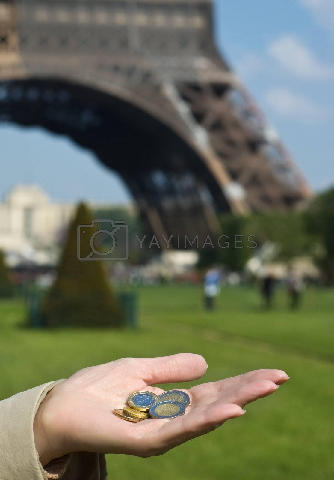 Royalty free image of Euro in Europe by iribo