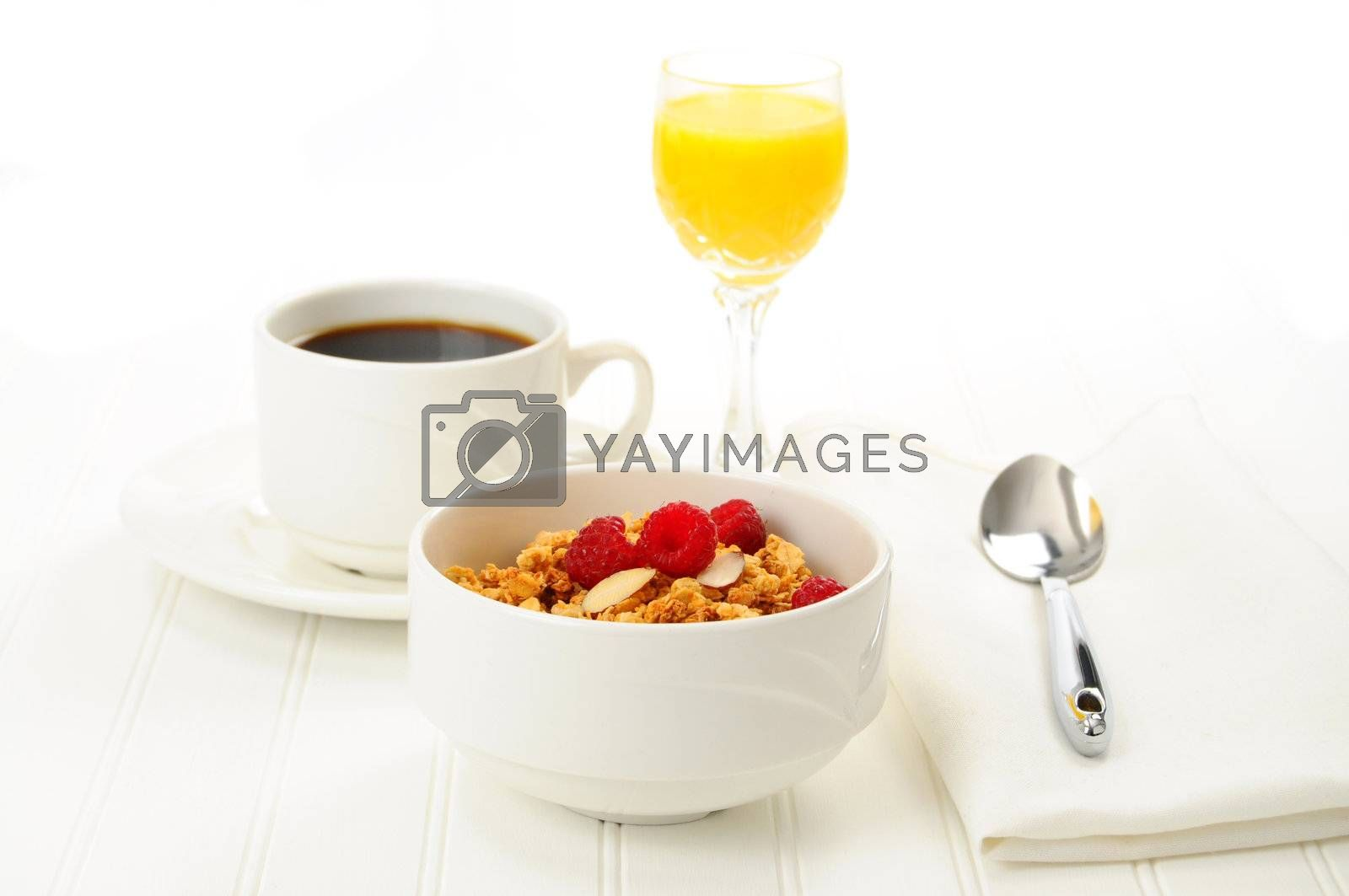 Royalty free image of Breakfast by billberryphotography