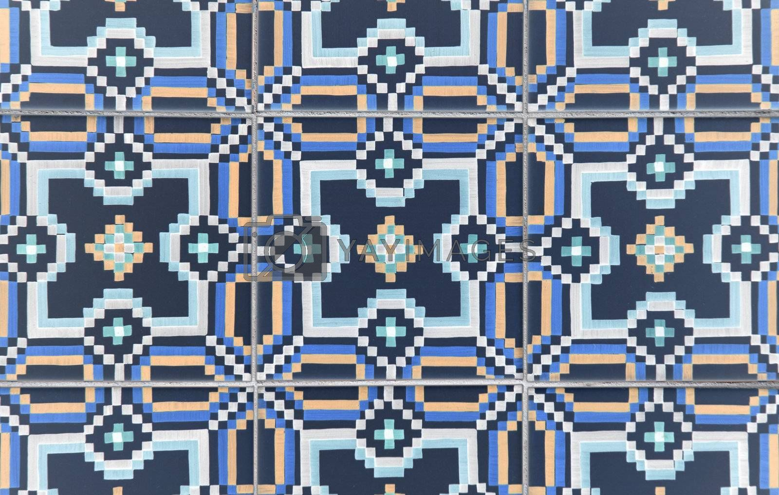 Royalty free image of Ornamental old tiles by homydesign