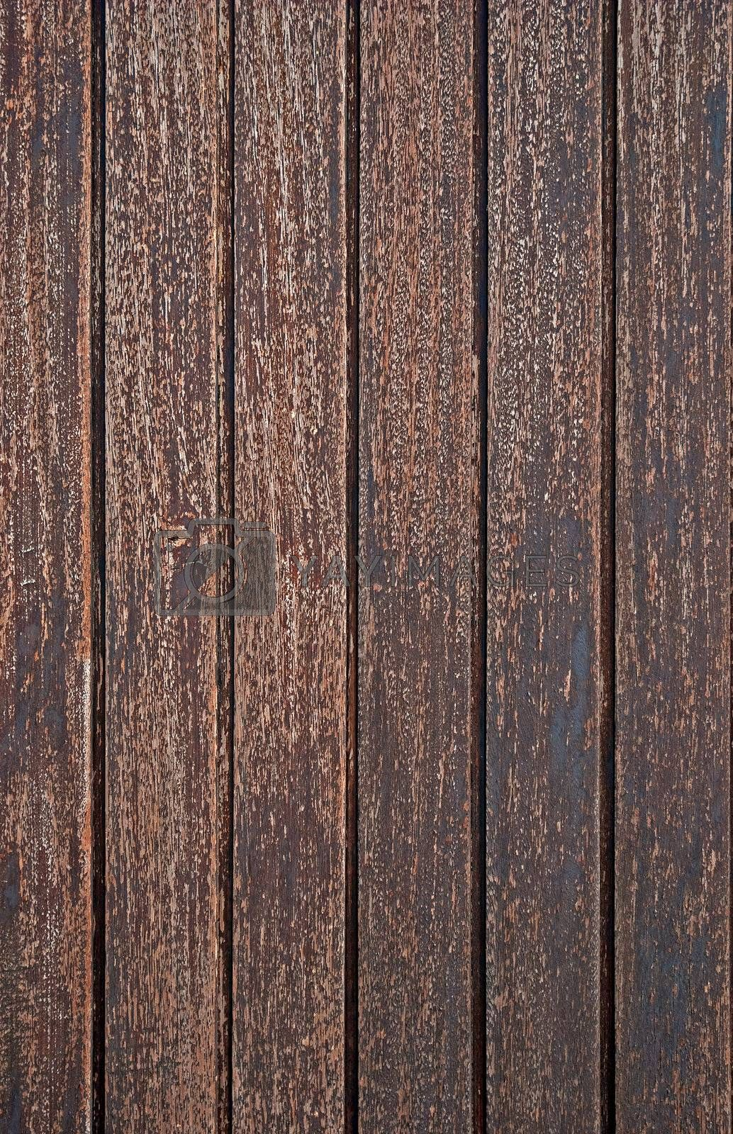Royalty free image of Wood old wall background by homydesign