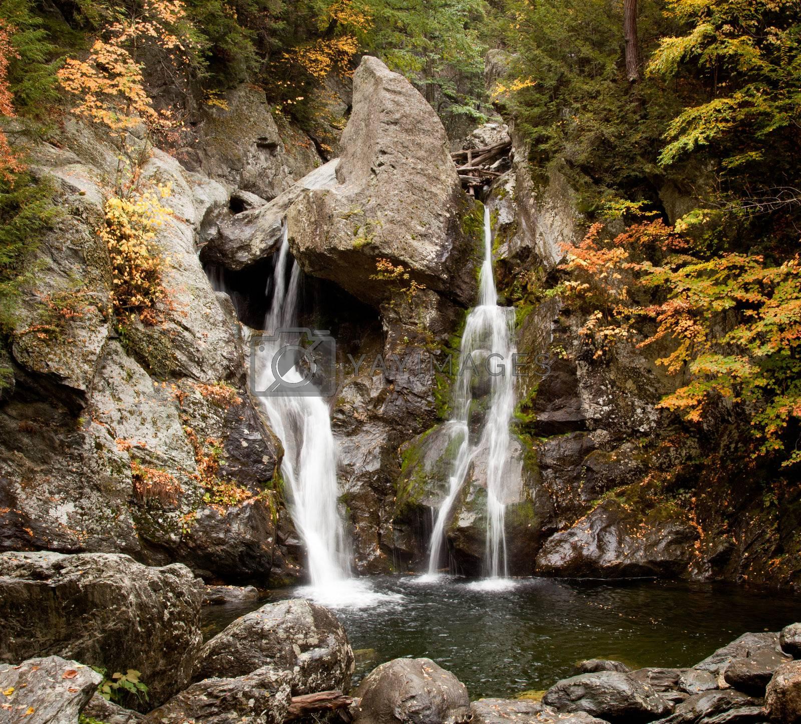 Royalty free image of Bash Bish falls in Berkshires by steheap