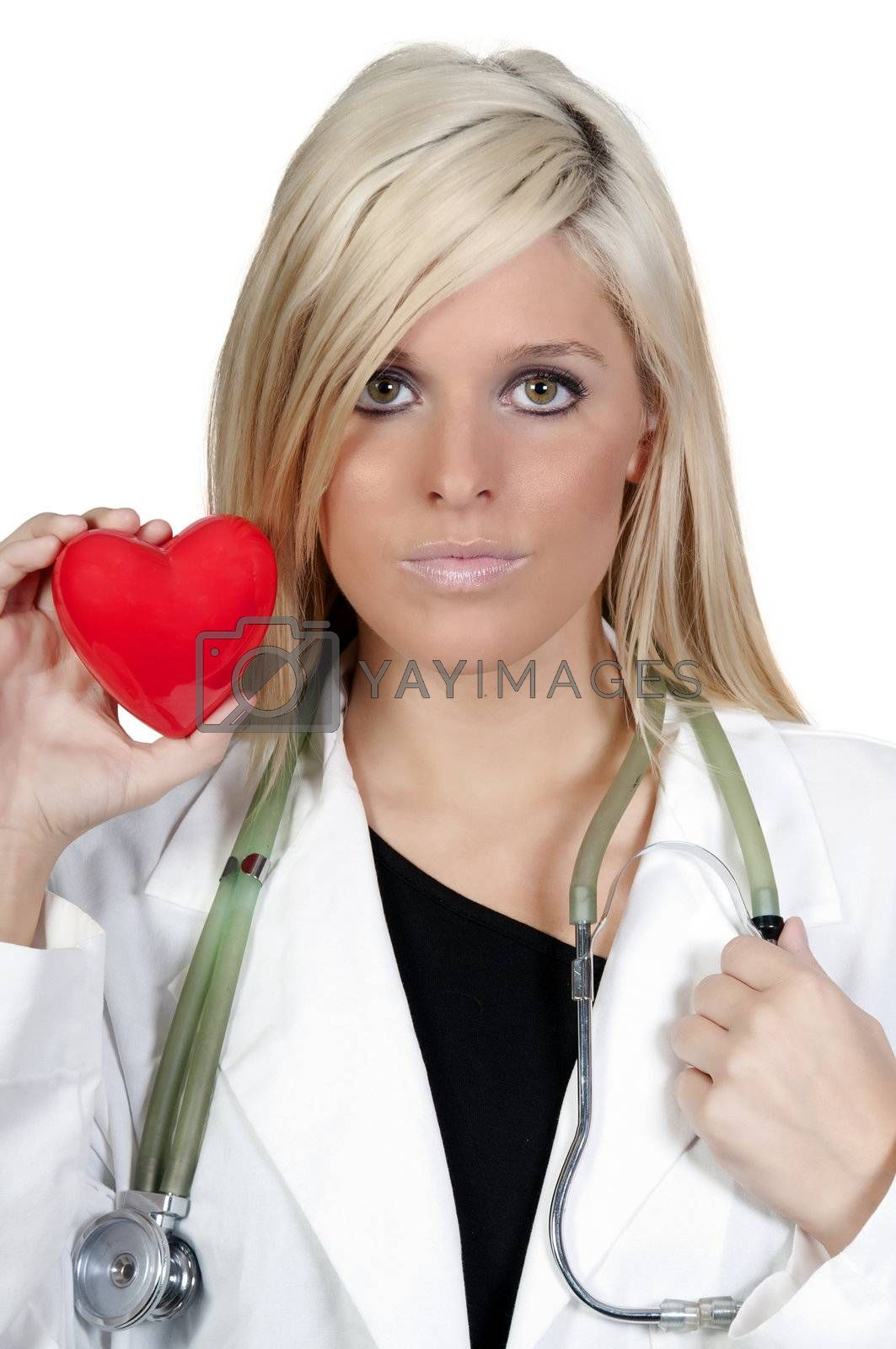 Royalty free image of Female Cardiologist by robeo
