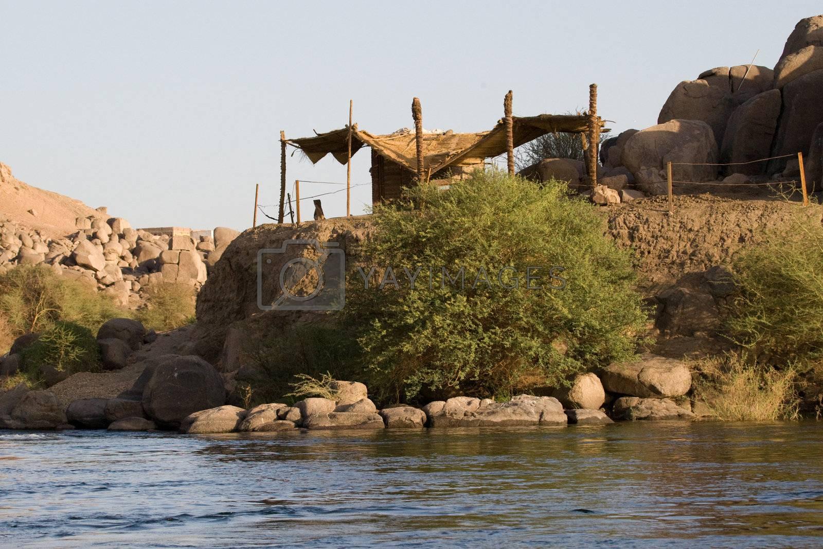 Royalty free image of Nile River near Aswan, Egypt by MihaiDancaescu