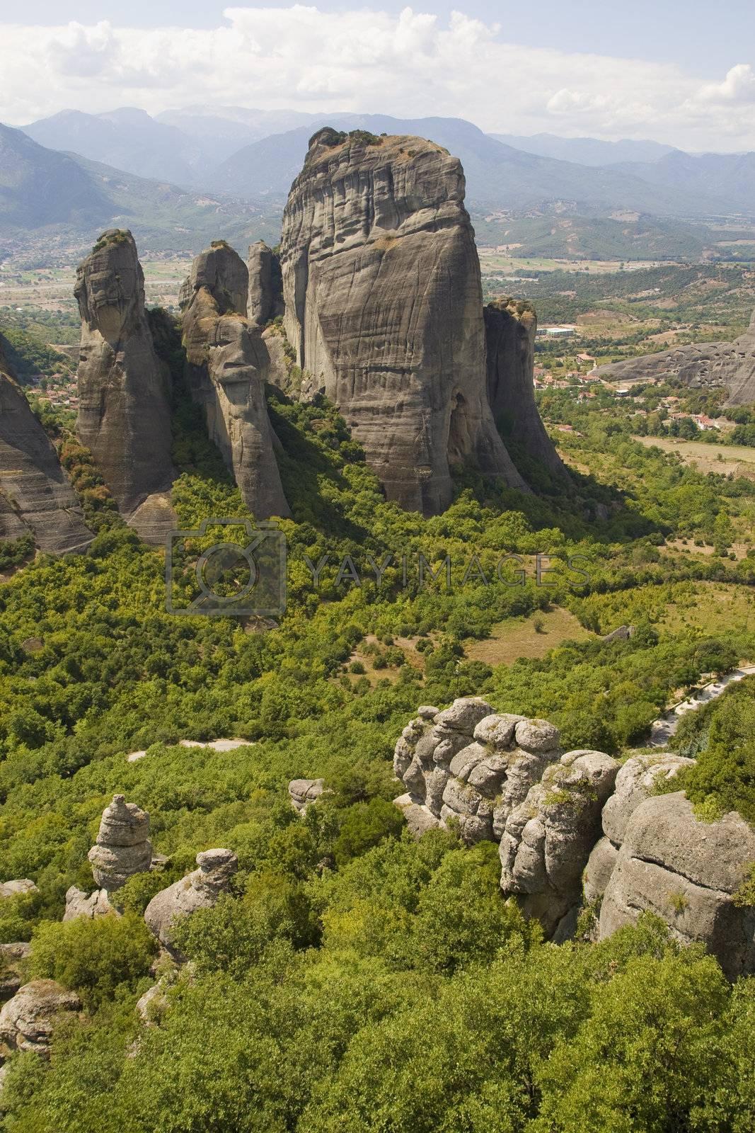 Royalty free image of Meteora - Greece by MihaiDancaescu