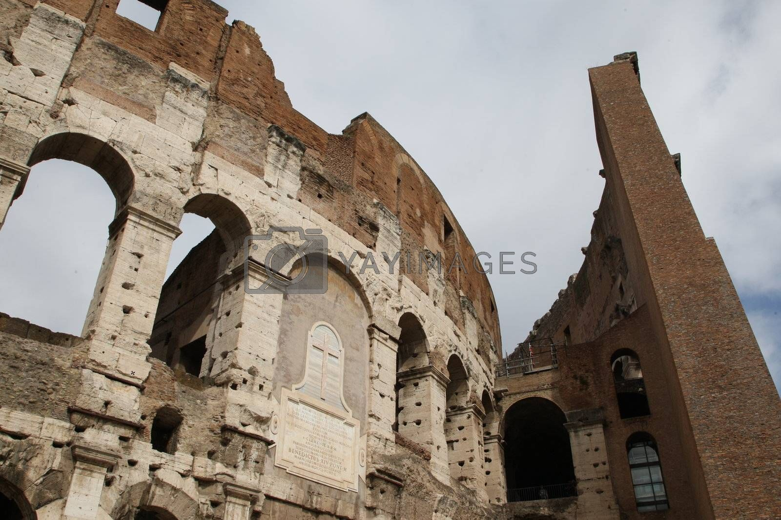 Royalty free image of Colosseum by MihaiDancaescu