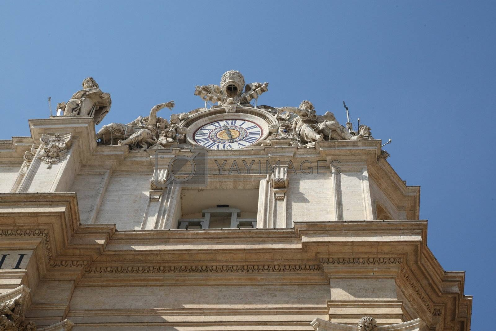 Royalty free image of St. Peter - Rome by MihaiDancaescu
