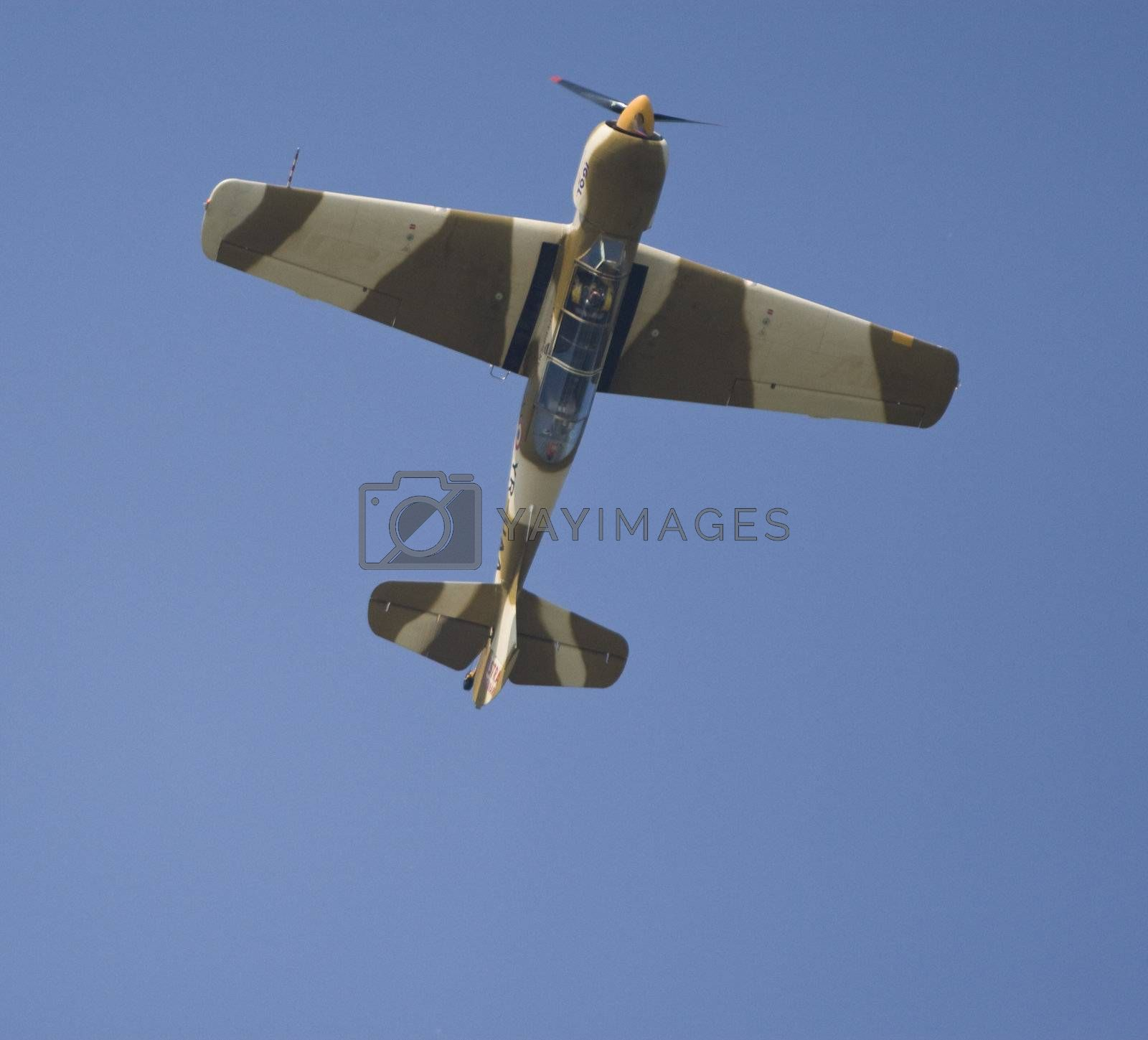 Royalty free image of Acrobatic airplane by MihaiDancaescu