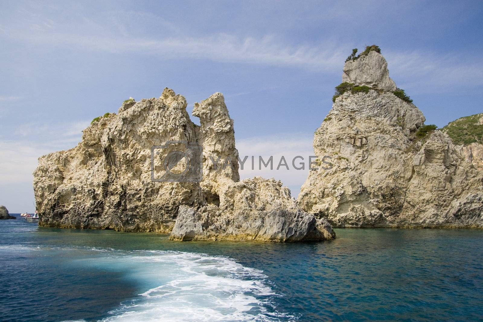 Corfu Island - View from the boat