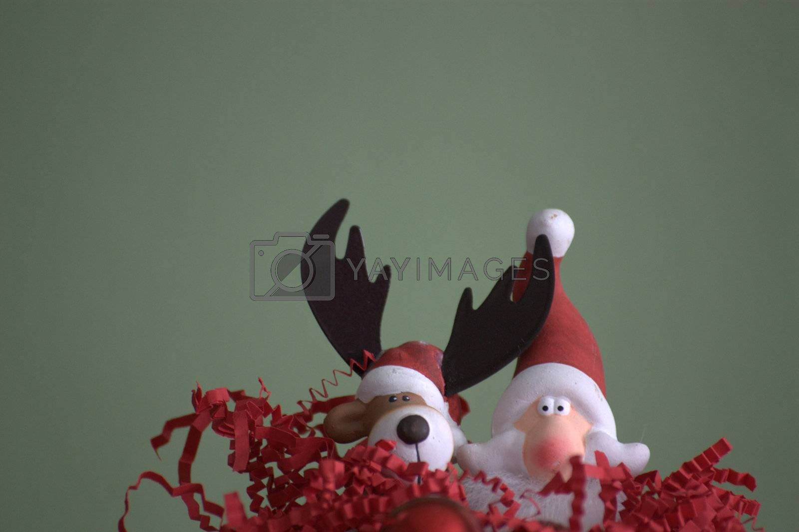 """Santa Claus, also known as Saint Nicholas, Sinterklaas, Father Christmas, Kris Kringle, or simply """"Santa"""", is a figure who, in many Western cultures, brings gifts to the homes of the good children"""