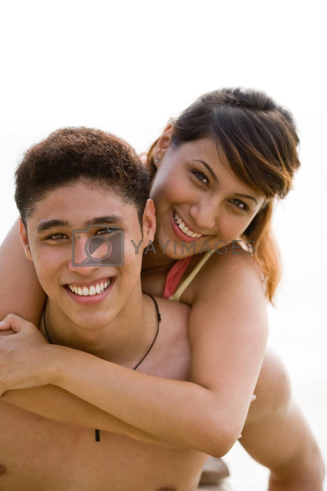 Happy couple by eyedear